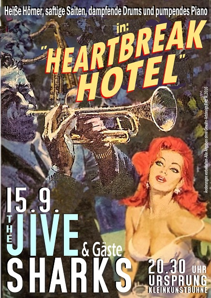 a plakat Heartbreak Hotel
